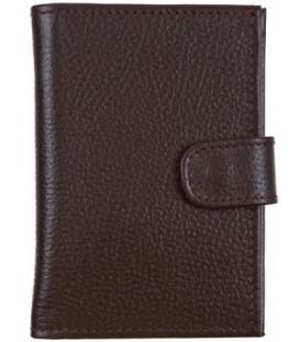 Кошелек для документов «Кинг» 4428 100*140 мм, рифленый коричневый