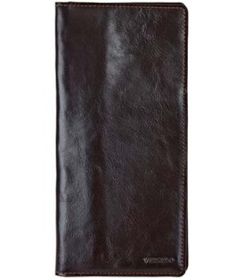 Трэвел-портмоне Versado 037 220*110 мм, коричневое
