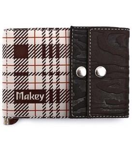 Зажим для денег «Макей» 068-11-03-14 78*110 мм, темно-коричневый