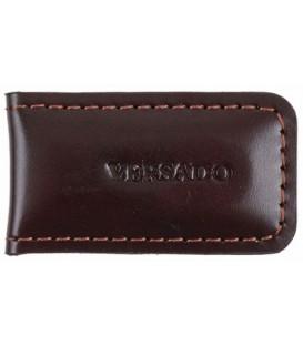 Зажим для денег Versado 132 60*35*10 мм, коричневый