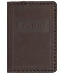 Обложка для паспорта «Макей» 009-07-01-10 140*96 мм, темно-коричневая