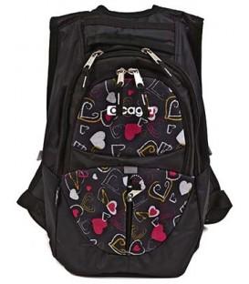 Ранец для средних и старших классов Cagia 440*360*160 мм, цветной