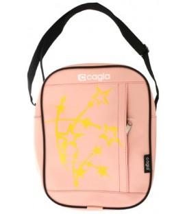 Сумка детская Cagia 270*210*80 мм, бледно-розовый с рисунком