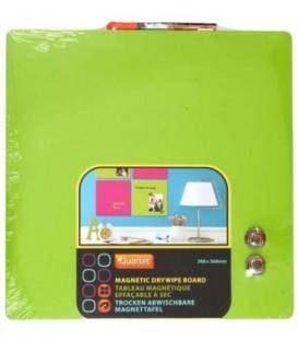 Доска магнитно-маркерная Quartet 36*36 см, зеленая