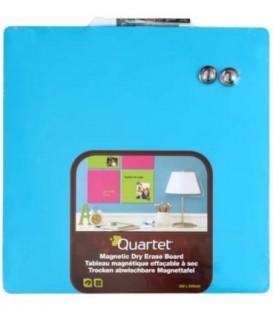Доска магнитно-маркерная Quartet 36*36 см, голубая