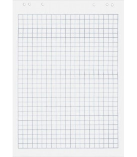 Блок бумажный для флипчартов Optima 64*90 см, 20 л., клетка