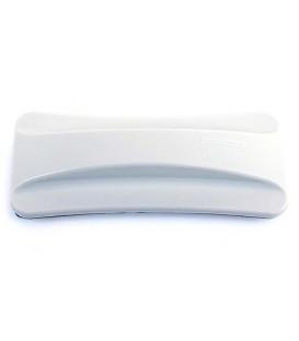 Стиратель для очистки досок Slim 2*3 магнитный 147*55 мм, белый