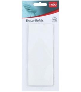 Сменные тканевые вкладыши для стирателя Nobo Eco 10 шт.