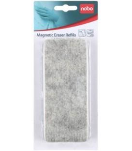 Сменные войлочные вкладыши для стирателя Nobo Magnetic Eraser 10 шт.