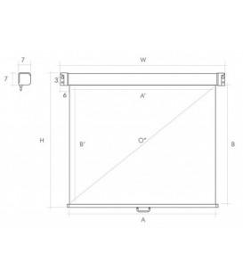 Экран настенный Ligra Ecoroll 044043 Ecoroll manual MW