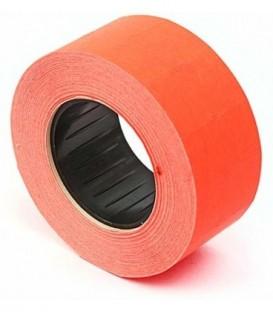 Этикет-лента однострочная 21,5*12 мм, красная