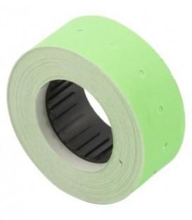 Этикет-лента однострочная 21,5*12 мм, прямоугольная, зеленая