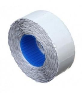 Этикет-лента однострочная Economix 22*12 мм, 1000 шт., фигурная, белая