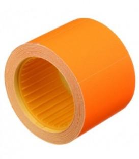 Ценник на клейкой основе Economix 50*40 мм, 100 шт., прямоугольный, оранжевый