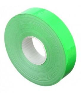 Этикет-лента двустрочная Economix 23*16 мм, 700 шт., прямоугольная, зеленая