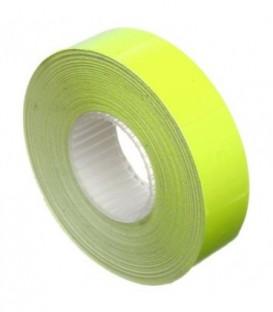 Этикет-лента двустрочная Economix 23*16 мм, 700 шт., прямоугольная, желтая