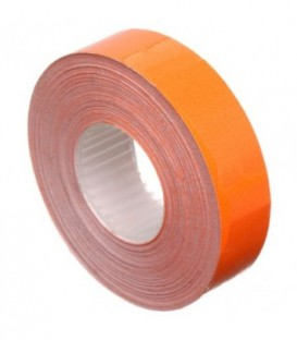 Этикет-лента двустрочная Economix 23*16 мм, 700 шт., прямоугольная, оранжевая