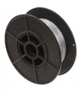 Проволока с двойной витой структурой диаметр 0,65 мм, длина 100 м, в катушке