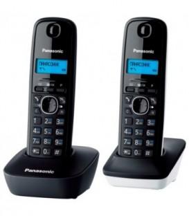 Телефон KX-TG1612RU Panasonic беспроводной 2 трубки: серая и белая