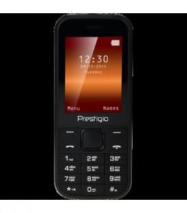 Телефон мобильный Prestigio PFP1240 Black, корпус черного цвета