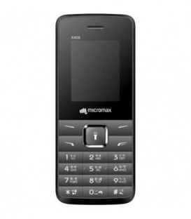 Телефон мобильный Micromax X408 Grey, корпус серого цвета