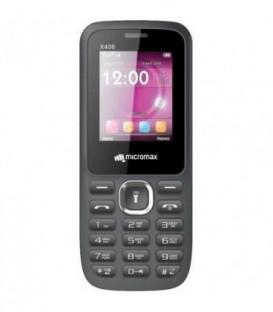 Телефон мобильный Micromax X406 Grey, корпус серого цвета