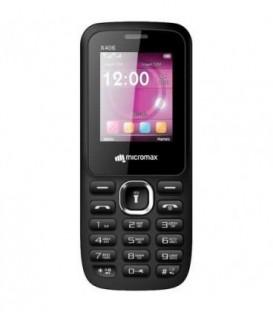 Телефон мобильный Micromax X406 Black, корпус черного цвета