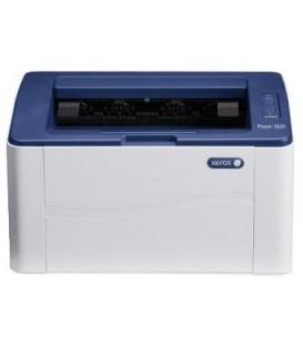 Принтер лазерный Xerox Phaser 3020V BI А4, лазерная черно-белая печать 1200 х 1200 dpi, Wi-Fi, бело-синий