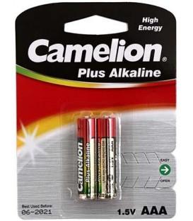 Батарейка щелочная Camelion Alkaline Plus ААА, LR03, 1.5V