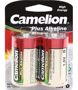 Батарейка щелочная Camelion Alkaline Plus D, LR20, 1.5V