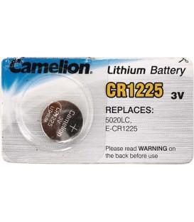 Батарейка литиевая дисковая Camelion Lithium CR1225, 3V