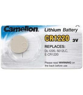 Батарейка литиевая дисковая Camelion Lithium CR1220, 3 V