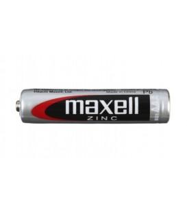 Батарейка солевая Maxell Zinc AAA, R03, 1.5V