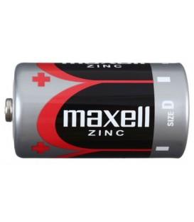 Батарейка солевая Maxell Zinc D, R20, 1.5V