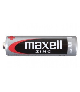 Батарейка солевая Maxell Zinc AA, R6, 1.5V