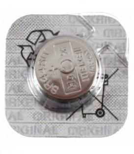 Батарейка дисковая Maxell Silver Oxide SR44SW(303), 1.55V