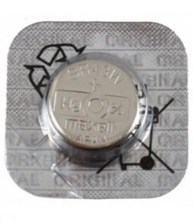 Батарейка дисковая Maxell Silver Oxide SR43W(386), 1.55V