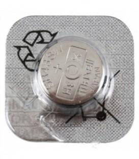 Батарейка дисковая Maxell Silver Oxide SR43SW(301), 1.55V