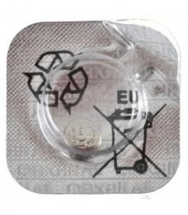 Батарейка дисковая Maxell Silver Oxide SR416SW(337), 1.55V