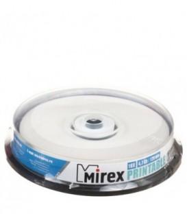 Компакт-диск DVD+R Mirex 16x, 10 шт., в тубе