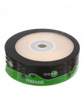 Комапкт-диск DVD+ R Maxell 16x, 25 шт.