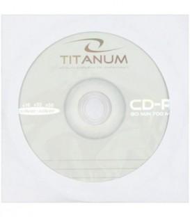 Компакт-диск CD-R Titanum 52х, 1 шт. в бумажном конверте