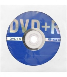 Компакт-диск DVD+R Data Standart 16x, бумажный конверт с окном