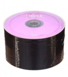 Компакт-диск DVD+RW Mirex 4x, 50 шт., в тубе