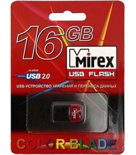Флэш-накопитель Mirex Arton 16Gb, корпус черно-красный
