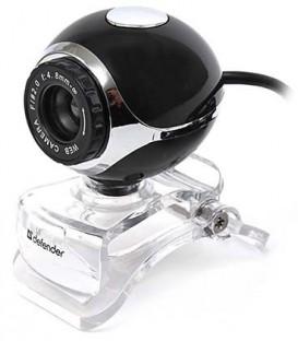 WEB-камера Defender C-090 USB, проводная, черная