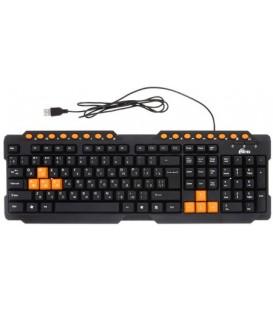 Клавиатура Ritmix RKB-151 USB, проводная, черная