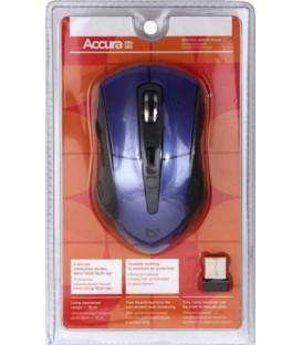 Мышь компьютерная Defender Accura MM-965 USB, беспроводная, серая с фиолетовым