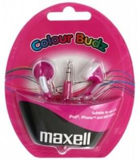 Наушники-вкладыши стерео Maxell Colour Budz фиолетовые