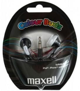 Наушники-вкладыши стерео Maxell Colour Budz черные